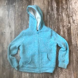 CHILDRENS PLACE GIRLS HOODIE SIZE MEDIUM 7/8 BLUE